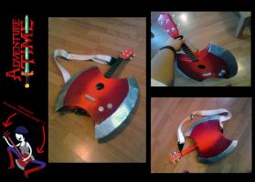 Adventure Time- Marceline's bass ukulele by Lifeconsumer102