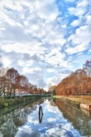 Passing Clouds HDR by alex-cataclysm