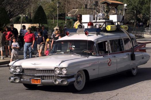 Ghostbusters car by MountainTigers