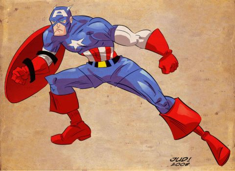 Capitain America by judson8