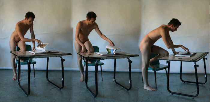 Request - Male Nude Table by TheMaleNudeStock