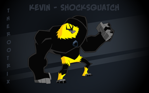 The Rootrix - Kevin - Shocksquatch by redamimi