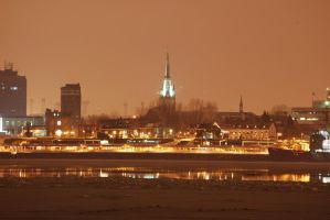 Trois-Rivieres Downtown by Swatmax