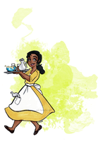 new tiana ask blog! by HunterHeroici