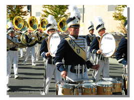 BYU Homecoming Parade - Marching band by WillFactorMedia