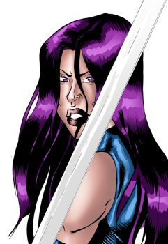 Psylocke by SweetyWhite