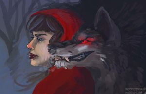 Red Riding Hood by wylieblais