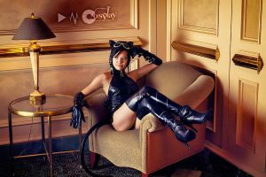 Taking a Break: Amecomi Catwoman by Xxfruit-cakexX
