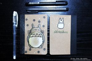 Totoro Notebook - Fanart My Neighbor Totoro by CrisEsHer