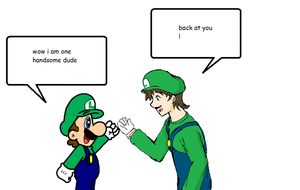 Luigi  S Pep Talk With Your Oc  Read By Superm by 12luigi