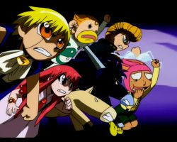 Zatch Bell and Company by MBarDeaD