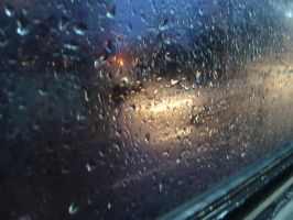 Rain on the window by tonev