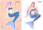 Before and After - Mermaid by Meoon