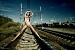 The width of railway track in Russia is 1520 mm by Aloisov