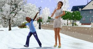No snow in sweden by TheSims3Pets