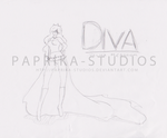 Commission: Diva -SKETCH- by Paprika-Studios