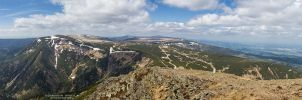 View from Sniezka by DominikaAniola