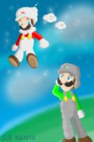 Mario Galaxy 2--Space Hijinks by Stareon