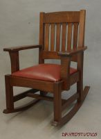 Mission Rocking Chair by DryadStudios