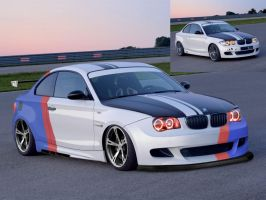 VT BMW 1 Series Race Car by MikeGTS