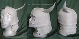 Ulquiorra Helmet by the-mirror-melts