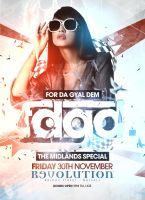 Club Event Flyer Design - October 2012 by danwilko