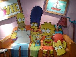 The Simpsons by liverpaudlianlady