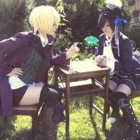 Alois and Ciel Chess Match by MandaMafia17