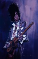 Prince - Purple Rain by DevonneAmos