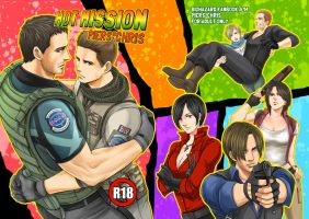 resident evil 6 fanbook by umeume83