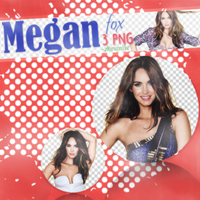 Megan Fox PNG PACK By ZhrSmile by ZhrSmile