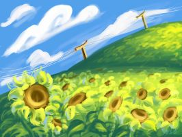 Sunflowers by MsAiry