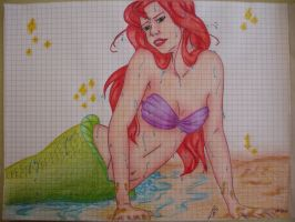 Ariel The Little Mermaid by 6LadyBug9