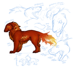 Flamehounds?? by Jeakilo