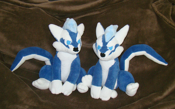 Puppy Repede Twins by Shadottie