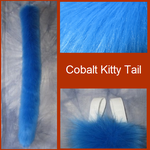 Cobalt Kitty Tail by Lascivus-Lutra