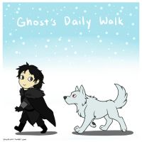 Ghost's Daily Walk by ToranekoStudios