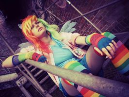 Rainbow Dash [Rainbow Factory] Cosplay 11 by Milchwoman