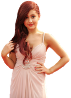 Ariana Grande PNG by itsalitommo