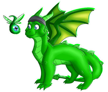 Jack the Septic-Dragon by mechafeline