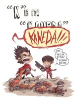 K Is For Kaneda by OtisFrampton