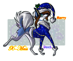 Merry_Xmass_form_Erika_+:. by ThechnoHusky92