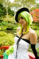 A small smile? (Gumi) by SkittlesnCookie