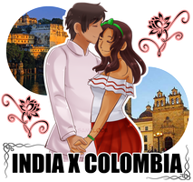 India x Colombia by SaMelodii