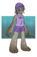 Seal Person by littlewoodlouse