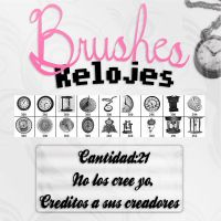+Brushes Relojes by tyronexjoseph