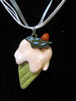 FOR SALE Ice cream Necklace by Ringo-Chu