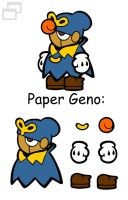 Paper Geno by Slushy-man