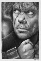 Tyrion Lannister by nobodysghost