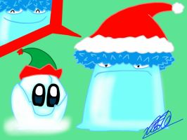 merry christmas from plants vs zombies por fede by Fedecomics